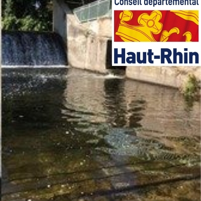 New RFID system to assess the effectiveness and attractiveness of a fish pass of the Fecht at Ingersheim (2017-09-25)